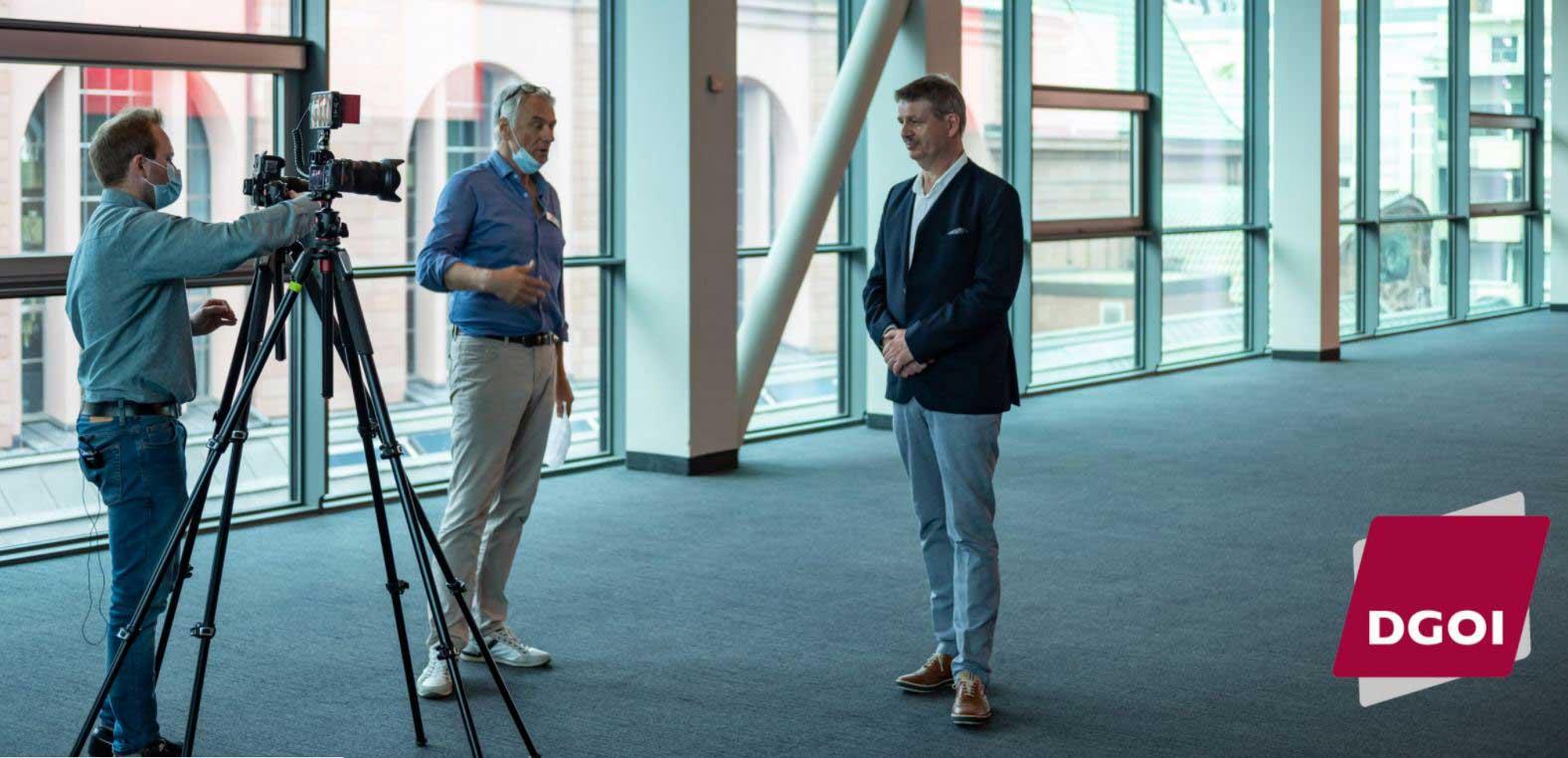 Interview beim DGOI-Kongress 2021 in Mannheim